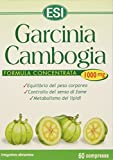 ESI Garcinia Cambogia, 1000 Milligrammi, 60 compresse