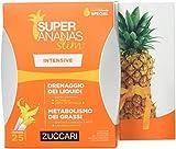 Zuccari Linea Super Ananas Slim, Intensive Drenaggio Dei Liquidi 25 Bustine