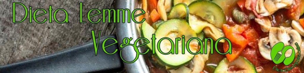 menu dieta lemme vegetariana