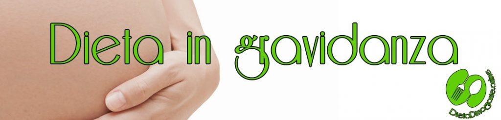 dieta in gravidanza per no ingras