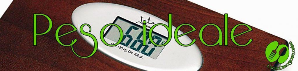 calcolare peso ideale gratis online